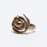 Wasteland Jewelry - ShopWasteland.com - Alkemie Wrap Tail Snake Ring
