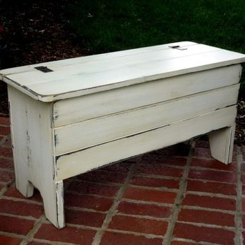 Coffee Table Chest with storage