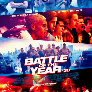 Battle of the Year 3D 11x17 Movie Poster (2013)