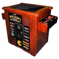 Namco Pac Mans Arcade Party Cocktail Game Cabinet