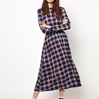 The WhitePepper Check Dress with Open Back at asos.com