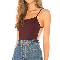 About Us Kennedy Bodysuit in Eggplant | REVOLVE