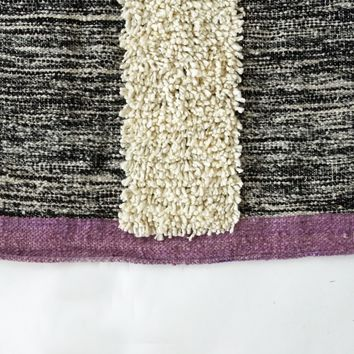 Melany Woven Wool Rug 2'x3' (3 color options)