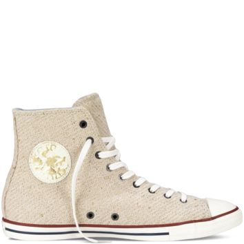 Converse -Chuck Taylor All Star Sparkle Weave Fancy -Portrait Grey-Hi Top 7b5b969f52