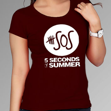 5 seconds of summer t shirt for Tshirt , Women ,Men