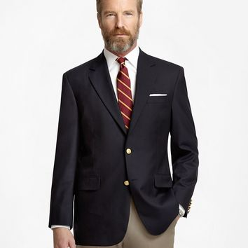 Men's Regular Fit Two-Button Classic 1818 Blazer | Brooks Brothers
