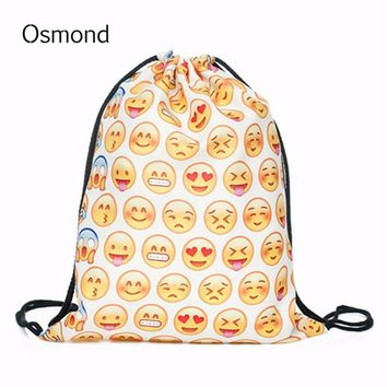 String Emoji Backpack