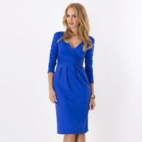 Fashion Pregnancy Dresses for Pregnant Women Maternity Clothes Autumn Winter Dresses Maternity Clothing Mummy Clothes