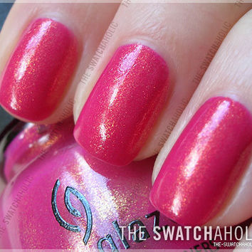 NOTD: China Glaze ? Strawberry Fields | The Swatchaholic . a blog about nail polish and makeup