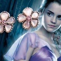 Hermione's Yule Ball Earrings - Silver Plated