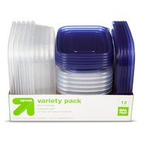 Container Variety Pack - 12ct - Up&Up™ (Compare to Glad®)