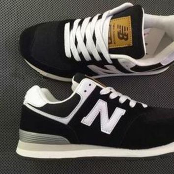 LMFUX5 fashion online new balance fashion casual all match n words breathable couple sneakers shoes