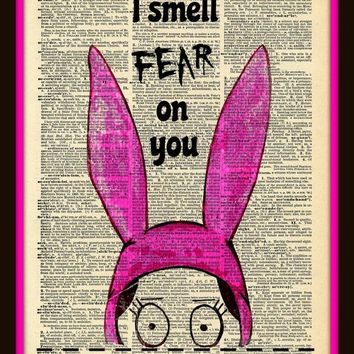 Buy 2 Get 1 Free Damn Dirty Lies  Louise Belcher Bob's Burgers Fan Art
