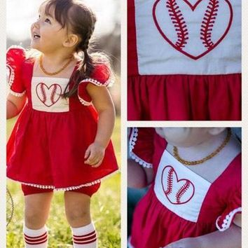 "24 HOUR FLASH SALE! RTS ""Bella Grace"" Baseball 2pc!! High Quality Woven Cotton!!!"