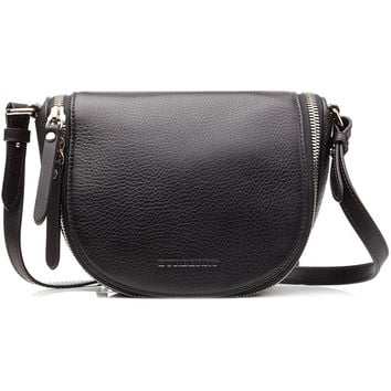 BURBERRY SHOES & ACCESSORIES Textured Leather Shoulder Bag