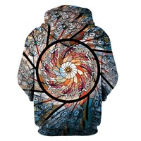 3D Hoodie Print Festival Clothing Stained Glass Art Sublimation Print Trippy Unisex Hoodies Sweatshirt Plus Size 3XL