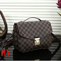 Louis Vuitton Women Fashion Leather Satchel Shoulder Bag Handbag Crossbody
