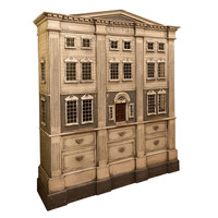 A Very Large Georgian Style Dolls House