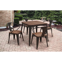 Jardin 5-piece Outfoor Dining Set | Overstock.com Shopping - The Best Deals on Dining Sets