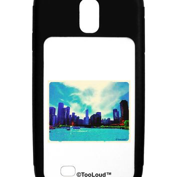 Chicago Skyline Watercolor Galaxy S4 Case  by TooLoud