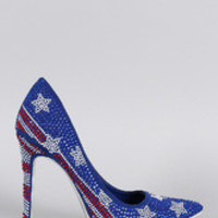 Women's Shoe Republic Stars and Stripes Pump