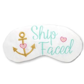 SHIP FACED SLEEP MASK