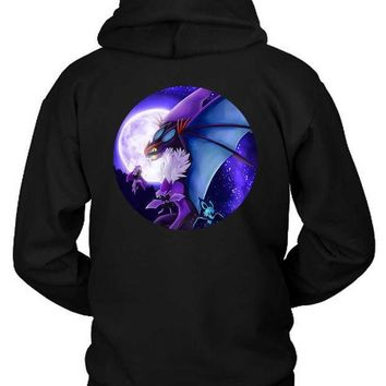 Pokemon Viper Ghost In Peace Hoodie Two Sided
