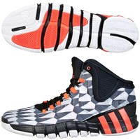 Adidas adipure crazyquick 2 Basketball Shoe - Running White/Infared