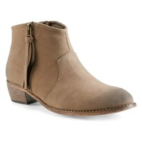 Zip Ankle Bootie