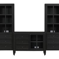 """Westmore 42"""" Media Console with 2 Towers in Media Centers 