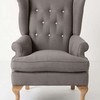 Anthropologie - Howell Wingback, Linen