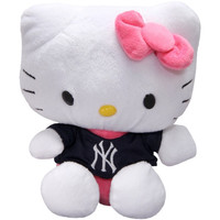 New York Yankees 8'' Hello Kitty Plush Toy - http://www.shareasale.com/m-pr.cfm?merchantID=7124&userID=1042934&productID=540318900 / New York Yankees