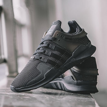 "Fashion ""Adidas"" Men's Equipment EQT Support ADV Black Casual Sports Shoes"