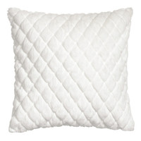 Quilted Faux Fur Cushion Cover - from H&M