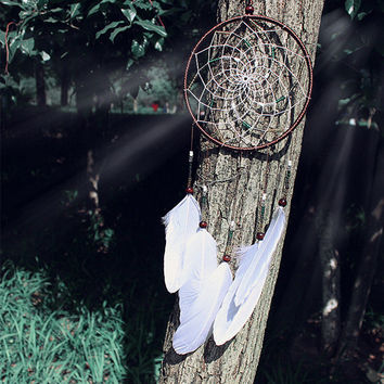 Dreamcatcher Feather Wall Car Home Hanging Decoration Ornament Gift