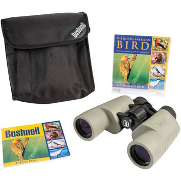 Bushnell Birder 8 X 40mm Porro Binoculars With Cd