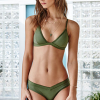 LA Hearts Fixed Elastic Triangle Bikini Top at PacSun.com