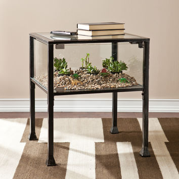 Upton Home Display/ Terrarium Side/ End Table | Overstock.com Shopping - The Best Deals on Coffee, Sofa & End Tables