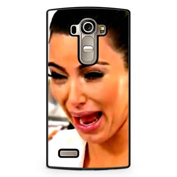 Kim Kardashian Crying LG G4 Case