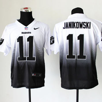 Football Sports Jersey Men Women Youth Kids Sebastian Janikowski Oakland Raiders 11