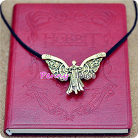 The INFERNAL DEVICES Tessa's Clockwork Angel Pendant Necklace