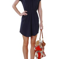 Dana Dress - Short Sleeve Shirtdress with Pockets - Humblechic.com