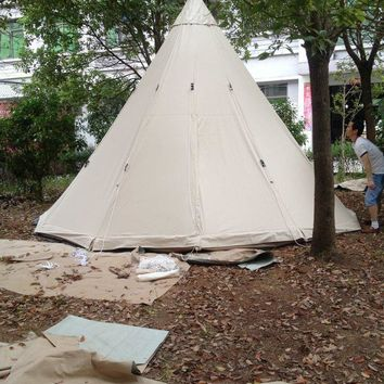Outdoor Camping Tent, Teepee Tent, Indian Teepee, Canvas Teepee, Bell Tent