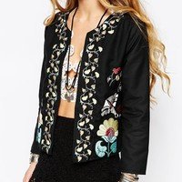 Glamorous Folk Embroidered Jacket