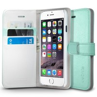 "iPhone 6 Case, Spigen® [Stand Feature] iPhone 6 Case Wallet **NEW** [Wallet S] [Mint] Premium Wallet Case with STAND Flip Cover for iPhone 6 (4.7"") (2014) - Mint (SGP10974): Amazon.ca: Cell Phones & Accessories"