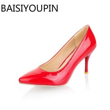 Small 30 31 Big Size 46 47 Women Fashion High Heels Shoes Female 21d79a4bf