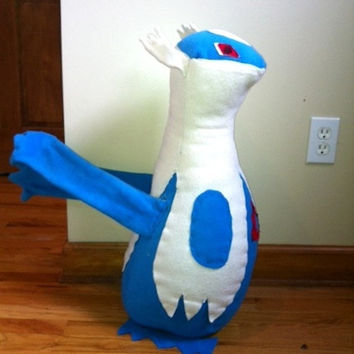 Pokemon Plush Toy Giant Latios Plush Custom Made by hailey860