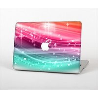 "The Vibrant Multicolored Abstract Swirls Skin Set for the Apple MacBook Pro 13"" with Retina Display"