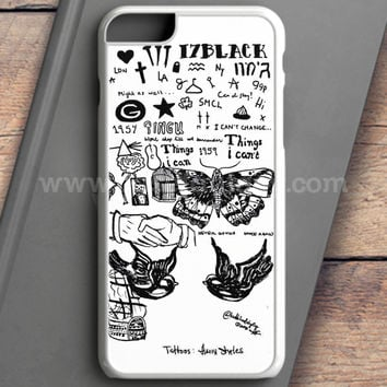 1D Harry Styles Tattoos iPhone 6S Case | casefantasy