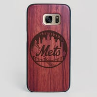 New York Mets Galaxy S7 Edge Case - All Wood Everything